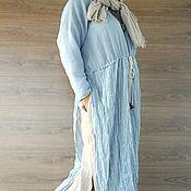 Одежда handmade. Livemaster - original item Dress and scarf in Bohemian style. Handmade.