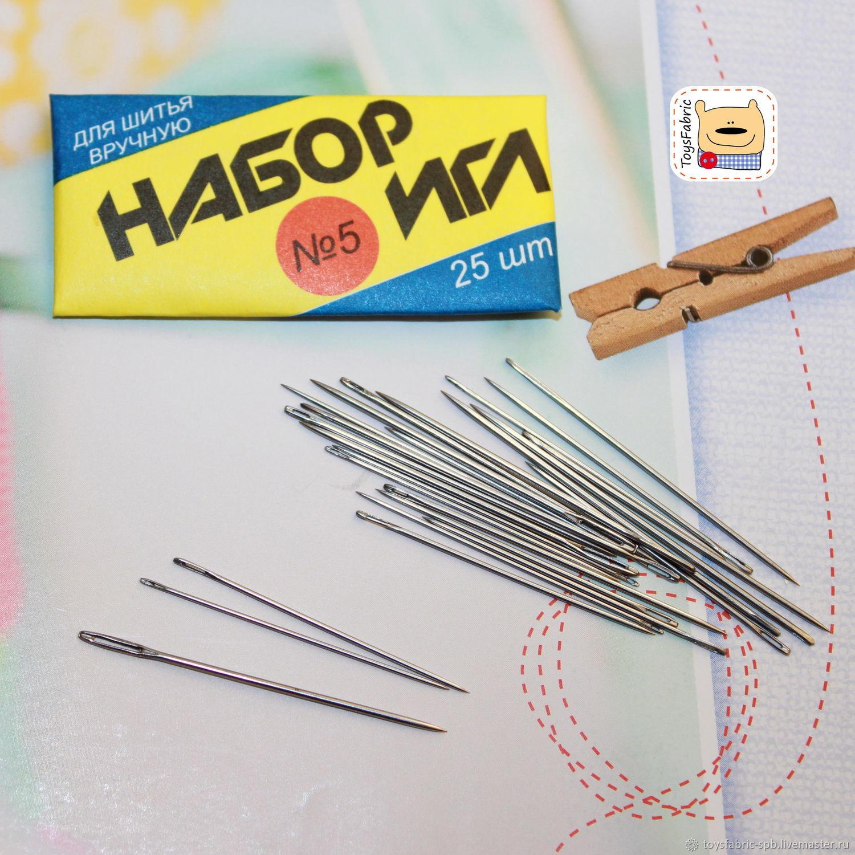 Иглы швейные для ручного шитья
