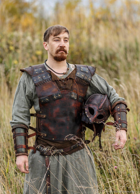 Viking leather armor set, Armour, St. Petersburg,  Фото №1