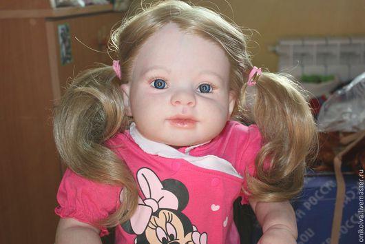 Куклы-младенцы и reborn ручной работы. Ярмарка Мастеров - ручная работа. Купить Катюшка. Handmade. Фуксия, подарок ребенку