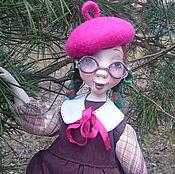 Куклы и игрушки ручной работы. Ярмарка Мастеров - ручная работа Подвижная кукла Ягодка из папье маше.... Handmade.