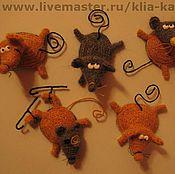 Куклы и игрушки handmade. Livemaster - original item Rats. Handmade.