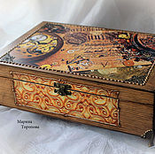 Box handmade. Livemaster - original item Box for watches, jewelry.
