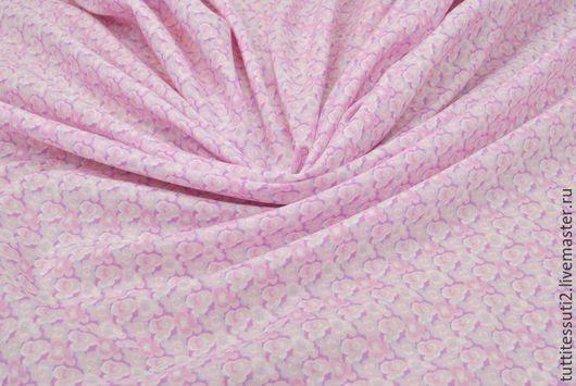 Шитье ручной работы. Ярмарка Мастеров - ручная работа. Купить Хлопковая ткань 02-003-1752. Handmade. Розовый
