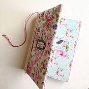 Канцелярские товары ручной работы. Ярмарка Мастеров - ручная работа Блокнот, дневник для записей. Handmade.