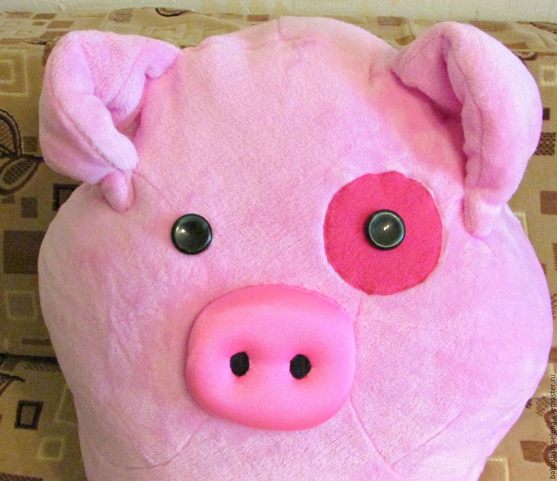 Игрушка свинка Пеппа своими 68