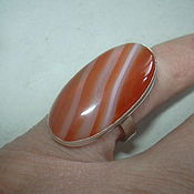 Украшения handmade. Livemaster - original item The elegant ring is the CARNELIAN,silver 925.. Handmade.