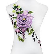 Материалы для творчества handmade. Livemaster - original item Bright embroidery, applique. Bambina. Handmade.