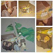 Декор ручной работы. Ярмарка Мастеров - ручная работа Декорации из картона.. Handmade.