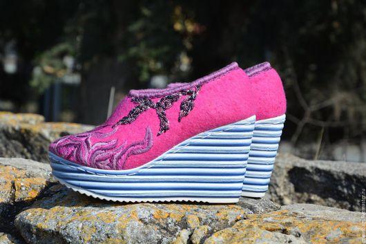 """Обувь ручной работы. Ярмарка Мастеров - ручная работа. Купить Туфли """" Rose"""". Handmade. Обувь ручной работы"""