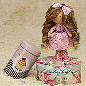 Куклы и игрушки ручной работы. Ярмарка Мастеров - ручная работа Кукла Тильда (тыквоголовка). Handmade.
