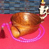 """Посуда ручной работы. Ярмарка Мастеров - ручная работа чаша """"Улитка"""" из дерева. Handmade."""