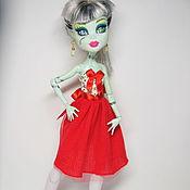 Куклы и игрушки ручной работы. Ярмарка Мастеров - ручная работа Сарафаны для Monster High и  Ever After High. Handmade.
