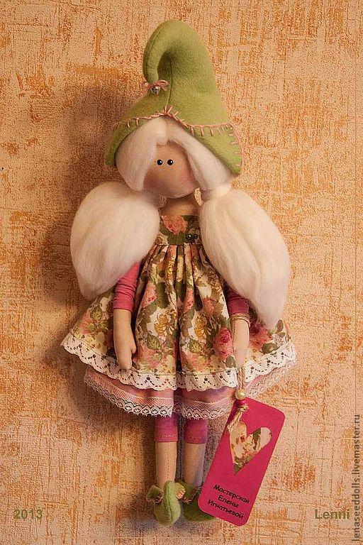 Коллекционные куклы ручной работы. Ярмарка Мастеров - ручная работа. Купить - LENNI -. Handmade. Кукла ручной работы, подарок девушке