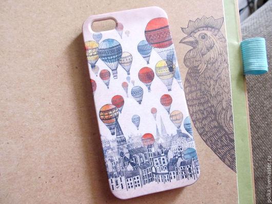 Для телефонов ручной работы. Ярмарка Мастеров - ручная работа. Купить Чехол для iphone 5,5s. Handmade. Разноцветный