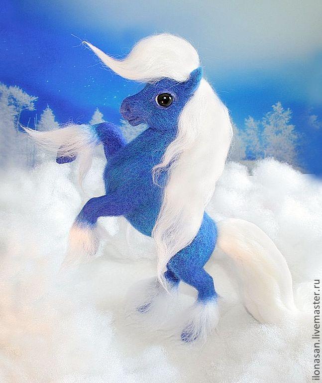 Новогодняя лошадка Лилу, Мягкие игрушки, Владивосток,  Фото №1