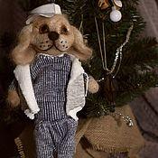 Куклы и игрушки ручной работы. Ярмарка Мастеров - ручная работа Собака из шерсти Тимка. Handmade.