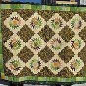 """Для дома и интерьера ручной работы. Ярмарка Мастеров - ручная работа Лоскутное одеяло  """"Лесная нимфа"""". Handmade."""