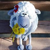 Куклы и игрушки ручной работы. Ярмарка Мастеров - ручная работа Забавная овечка. Handmade.