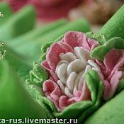 """Аксессуары ручной работы. Ярмарка Мастеров - ручная работа Шарф с брошью """"Romantic green spring"""". Handmade."""