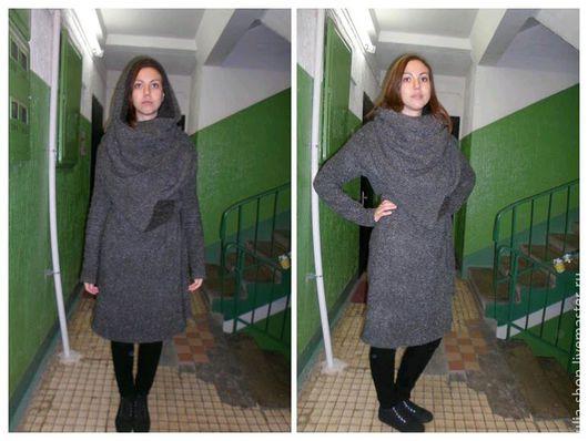 """Верхняя одежда ручной работы. Ярмарка Мастеров - ручная работа. Купить Демисезонное пальто / кардиган с запахом """"Букле"""". Handmade."""