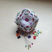 Подарки к праздникам ручной работы. Ярмарка Мастеров - ручная работа Игольница швейная. Handmade.