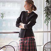 """Одежда ручной работы. Ярмарка Мастеров - ручная работа Юбка-шотландка """"Софи"""". Handmade."""