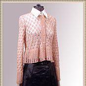 Одежда handmade. Livemaster - original item Jacket crochet