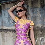 """Одежда ручной работы. Ярмарка Мастеров - ручная работа Платье """"Солнце"""" короткий рукав. Handmade."""