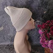 Аксессуары handmade. Livemaster - original item Knitted women`s hat, slouch hat, men`s hat. Handmade.