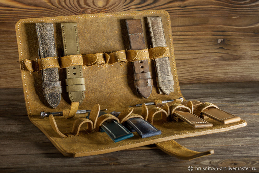 Watchband storage case (Strap-holder), Organizer, St. Petersburg,  Фото №1