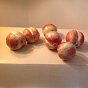 Для дома и интерьера ручной работы. Ярмарка Мастеров - ручная работа Персики зелено-розовые. Handmade.