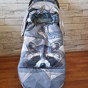 Конверты на выписку ручной работы. Ярмарка Мастеров - ручная работа Зимний конверт для коляски. Handmade.
