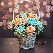 Для дома и интерьера handmade. Livemaster - original item Floral arrangement of handmade soap. Handmade.