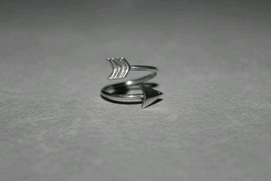 Кольца ручной работы. Ярмарка Мастеров - ручная работа. Купить Кольцо стрелка. Handmade. Серебряный, кольцо ручной работы, стрела