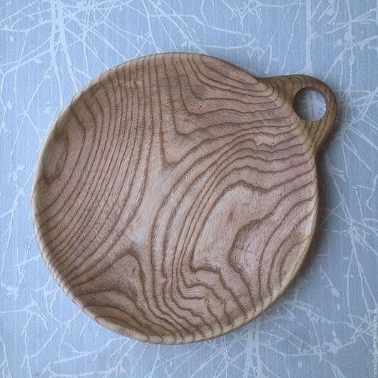 Кухня ручной работы. Ярмарка Мастеров - ручная работа. Купить Плошка. Handmade. Бежевый, плошка, деревянное блюдо, блюдо из дерева