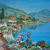 Картины ручной работы. Ярмарка Мастеров - ручная работа Итальянский пейзаж. Handmade.