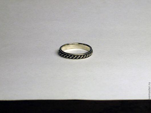 """Кольца ручной работы. Ярмарка Мастеров - ручная работа. Купить Серебряное кольцо """"Витое"""". Handmade. Серебряный, витое кольцо"""