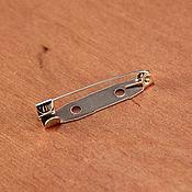 Заготовки для украшений ручной работы. Ярмарка Мастеров - ручная работа Основа для броши 30 мм. Handmade.