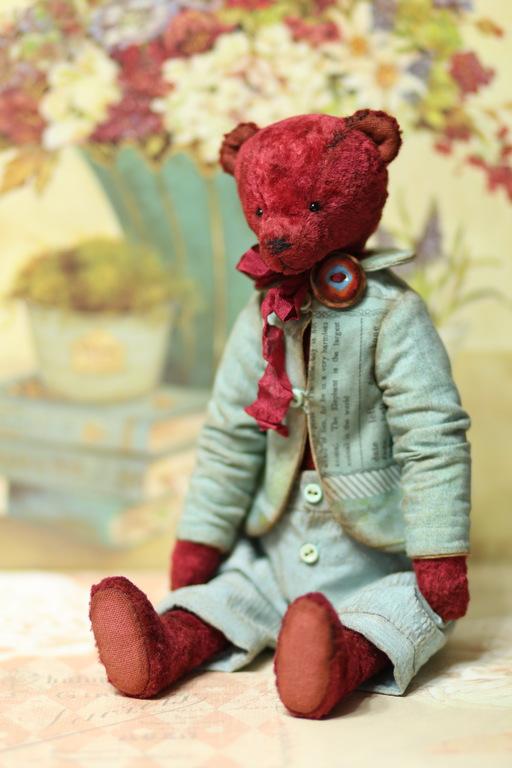 Мишки Тедди ручной работы. Ярмарка Мастеров - ручная работа. Купить Мишка Тедди Интерьерный 27 см. Handmade. Коричневый