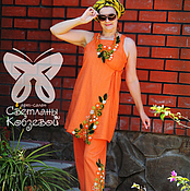 """Одежда ручной работы. Ярмарка Мастеров - ручная работа Комплект """"Капелька Индии"""". Handmade."""
