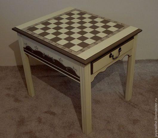 """Мебель ручной работы. Ярмарка Мастеров - ручная работа. Купить Придиванный столик """"Маргарита"""". Handmade. Бежевый, американская мебль"""