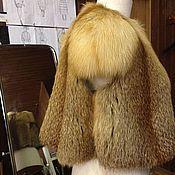 Одежда ручной работы. Ярмарка Мастеров - ручная работа Жилет из лисицы. Handmade.