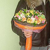 """Цветы и флористика ручной работы. Ярмарка Мастеров - ручная работа Букет из конфет """" Нежный"""". Handmade."""