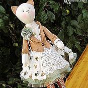 """Куклы и игрушки ручной работы. Ярмарка Мастеров - ручная работа Кошка """"Свет мой, зеркальце..."""". Handmade."""