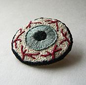 Украшения ручной работы. Ярмарка Мастеров - ручная работа Experimental Eye (Red Vessels Eye). Handmade.