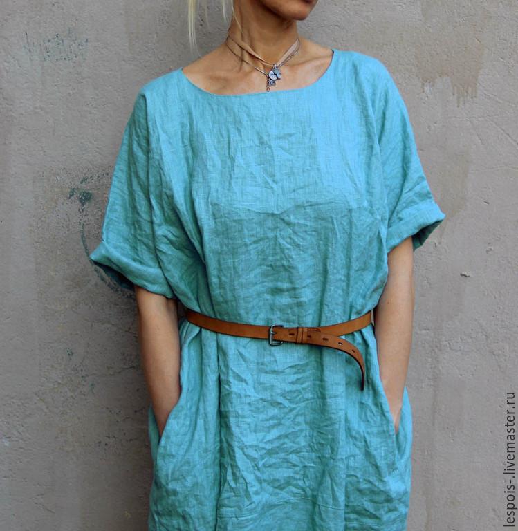 Платье из льна своим руками 6