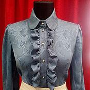 """Одежда ручной работы. Ярмарка Мастеров - ручная работа Блузка """"Ласковый шелк"""". Handmade."""
