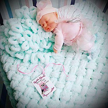 """Текстиль ручной работы. Ярмарка Мастеров - ручная работа Пледы """"Puffi Soft Sleep"""". Handmade."""