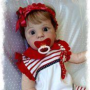 Куклы и игрушки ручной работы. Ярмарка Мастеров - ручная работа Кукла реборн на базе молда Cutie (Гутти), by Donna Rubert. Handmade.